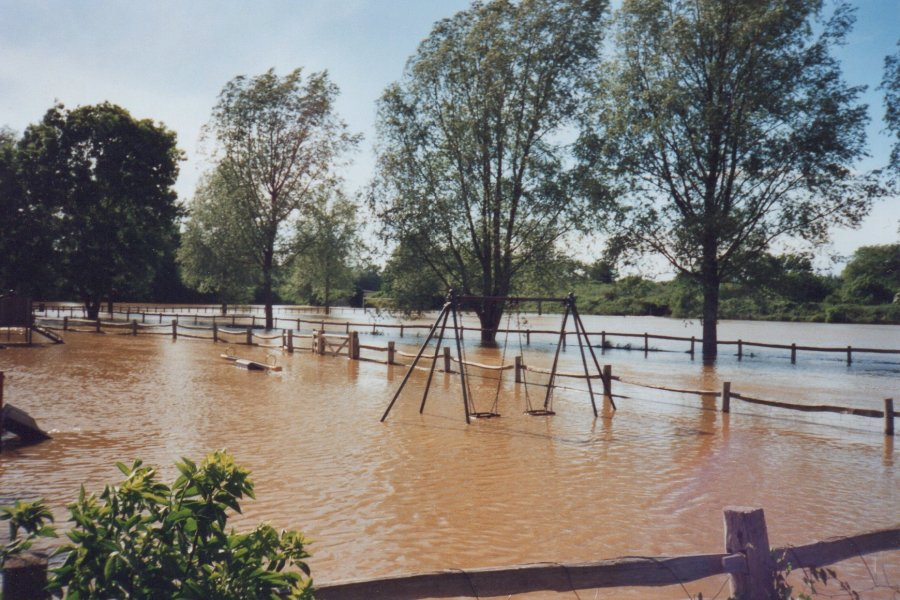 Flooding of the recreation ground