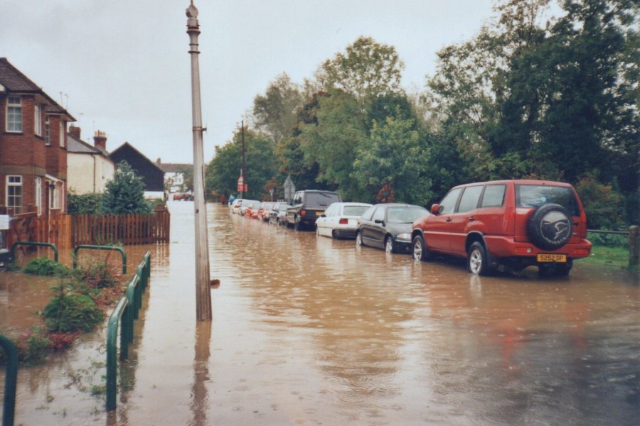Flooding in Station Road